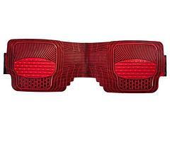 Набор универсальных ковриков в автомобиль (Черно-Красный), фото 2