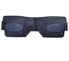 Набор универсальных ковриков в автомобиль (Черно-Синий), фото 3