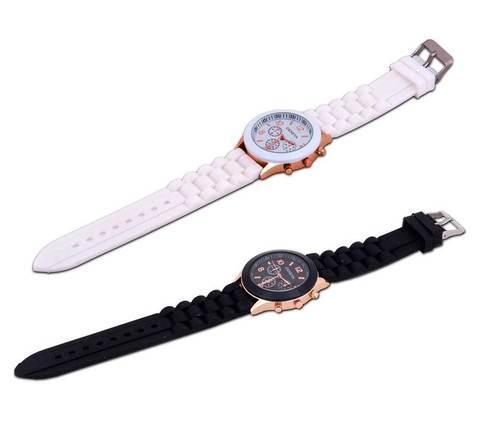 Часы наручные женские GENEVA (Оранжевый), фото 2