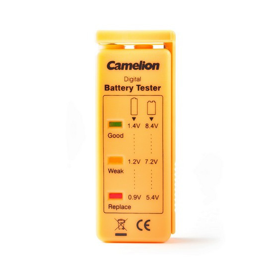 Тестер заряда батарей Camelion BT-0503, Тест батареек, (BT-0503)