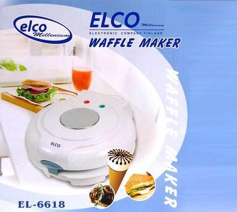 Вафельница ELCO EL-6618, фото 2