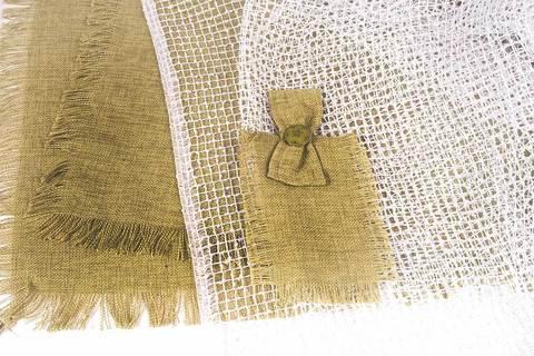 Комплект штор из натурального льна 1052 (2 м / Только тюль)