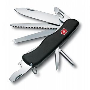 Нож складной солдатский Victorinox Locksmith, Кол-во функций: 17 в 1, Цвет: Чёрный, (0.8493.3)