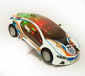 Машинка с музыкой и световыми эффектами Gangnam Style Dream Car