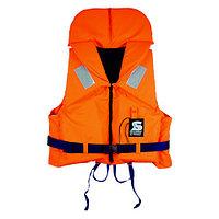 Спасательный жилет SECUMAR BRAVO 100N (50-70кГ)(оранжевый/синий) R 30363