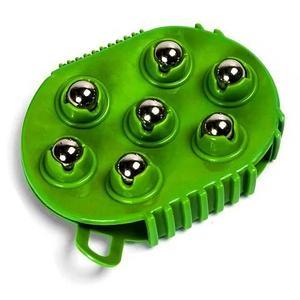 Массажная антицеллюлитная перчатка Nice Fit с массажными шариками