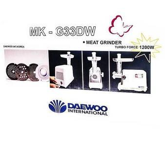 Мясорубка электрическая DAEWOO MK-G33DW
