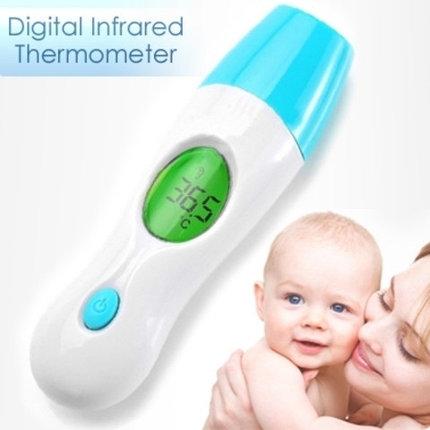 Детский бесконтактный инфракрасный термометр-градусник P&C 8 в 1, фото 2