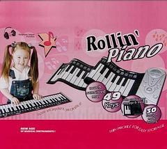 Синтезатор гибкий Rollin' Piano, фото 3