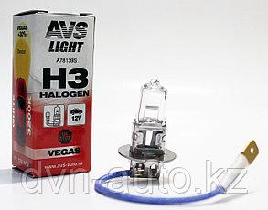 Лампа галогенная AVS Vegas H3.12V.55W (1 шт.)