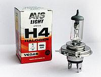 Лампа галогенная AVS Vegas H4.12V.60/55W (1 шт.)