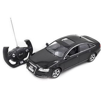 Радиоуправляемая модель автомобиль Rastar Audi A6L, 1:14, Управление: Джойстик, Материал: Пластик, Цвет: Чёрны