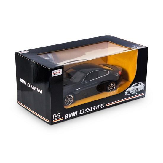Радиоуправляемая модель автомобиль Rastar BMW 6 Series, 1:14, Управление: Джойстик, Материал: Пластик, Цвет: Ч