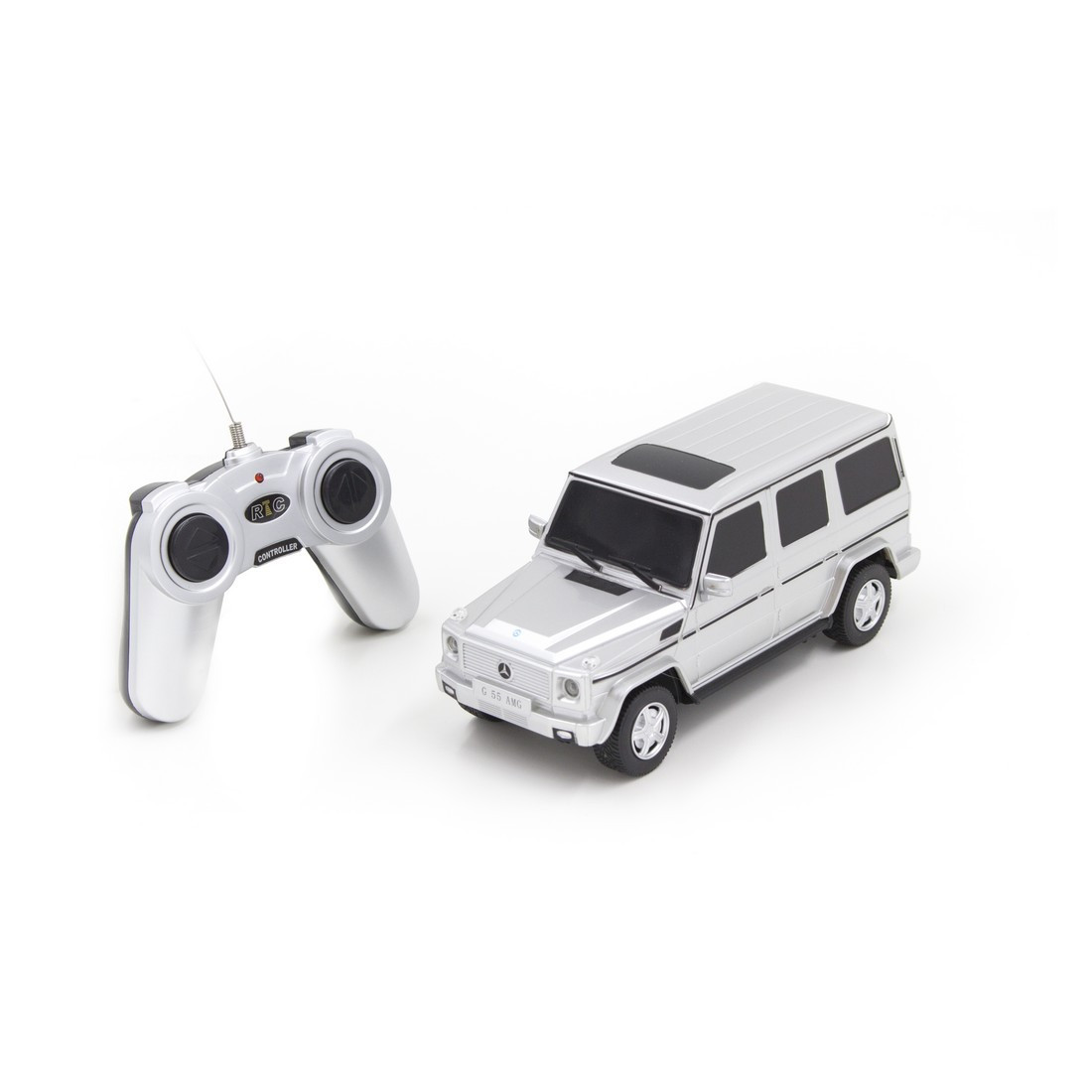 Радиоуправляемая модель автомобиль Rastar Mercedes-Benz G55 AMG Geländewagen, 1:24, Управление: Джойстик, Мате