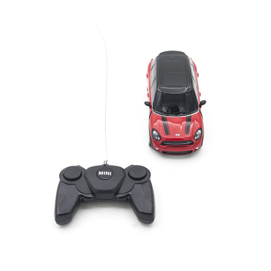 Радиоуправляемая модель автомобиль Rastar Mini Countryman, 1:24, Управление: Джойстик, Материал: Пластик, Цвет