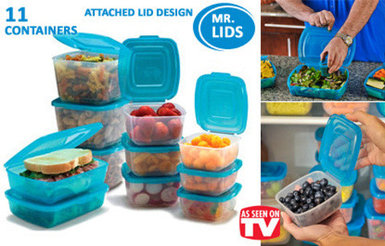 Набор контейнеров для пищевых продуктов Mr. Lid