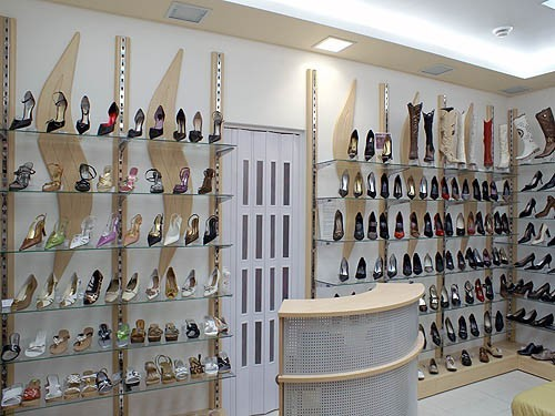 Оборудования для обувных салонов