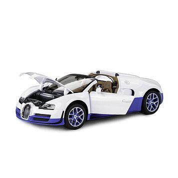 Модель автомобиля коллекционная Rastar Bugatti Grand Sport Vitesse, 1:18, Материал: Металл, Цвет: Белый, (4390
