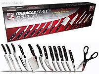 НАБОР НОЖЕЙ MIRACLE BLADE WORLD CLASS 13 piece knife set