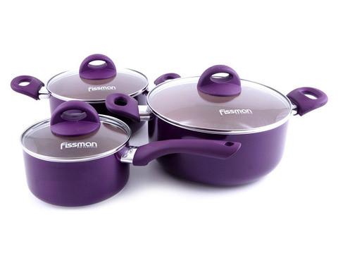 Набор кухонной посуды FISSMAN AMORET 4822 [6 предметов]