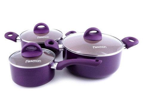 Набор кухонной посуды FISSMAN AMORET 4822 [6 предметов], фото 2
