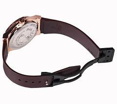 Часы наручные мужские реплика Hublot Geneve Big Bang (Бронза, черный ремешок), фото 3