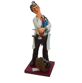 Статуэтка декоративная Forchino Доктор маленький, Высота: 240 мм, Материал: Полистоун, Цвет: Разноцветный, (F0