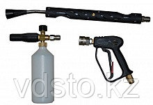Пенокомплект ZX.1078-q: пистолет с удлинителем, пенообразователь с бачком 1 л