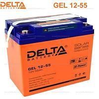Аккумуляторная батарея Delta GEL 12-55, фото 1