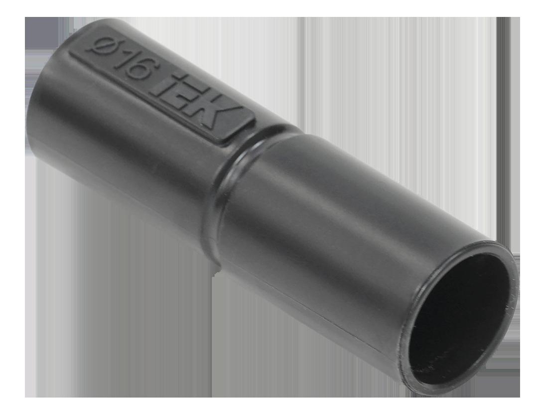 Муфта труба-труба GI25G IEK черный (5 шт/комп)