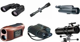 Оптика: Бинокли, подзорные трубы, дальномеры, телескопы, приборы ночного видения