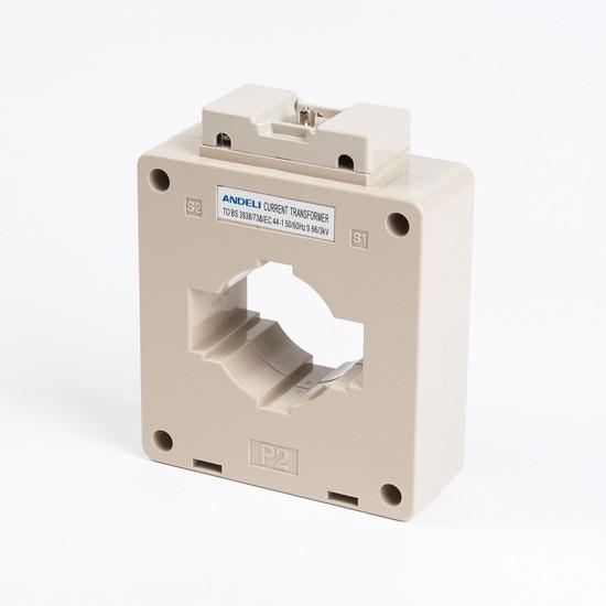 Трансформатор тока шинный Andeli MSQ-100 2000/5, Класс точности 0,5, Первичный/вторичный 2000/5 А, Цвет: Белый
