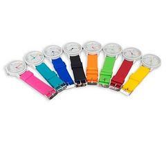 Часы наручные реплика Michael Kors MK-2491 на силиконовом ремешке (Желтый), фото 3