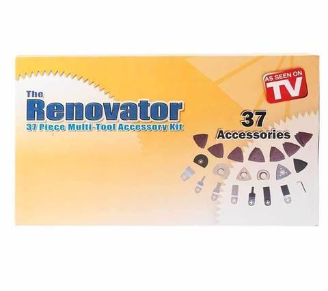 Набор из 37 аксессуаров к электроинструменту Renovator SAW, фото 2