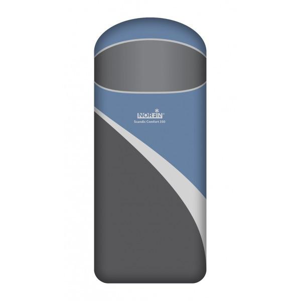 Спальный мешок трекинговый, кемпинговый Norfin Scandic Comfort 350, Форм-фактор: Одеяло, Мест: 1 , Молния спра