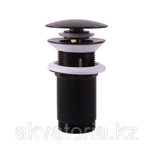 MD0484 CMAT водослив для умывальника черный