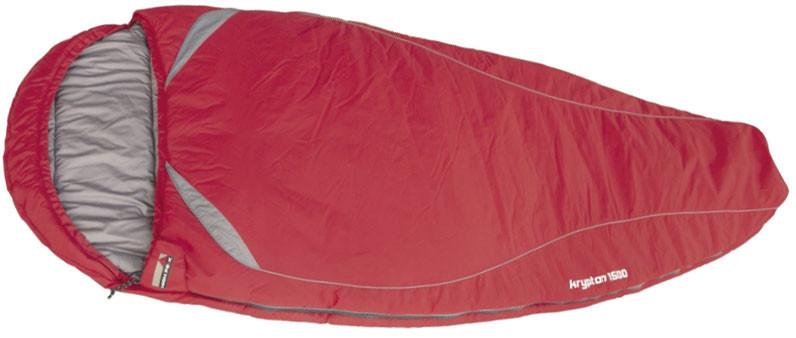 Спальный мешок трекинговый, кемпинговый High Peak KRYPTON 1500L, Форм-фактор: Кокон, Мест: 1, t°(комфорта): +6