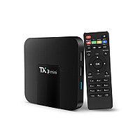 OTT TV Box TX3 Mini - приставка с OC Андроид 7.1, встроенный Wi-Fi, поддержка 4K, IPTV.