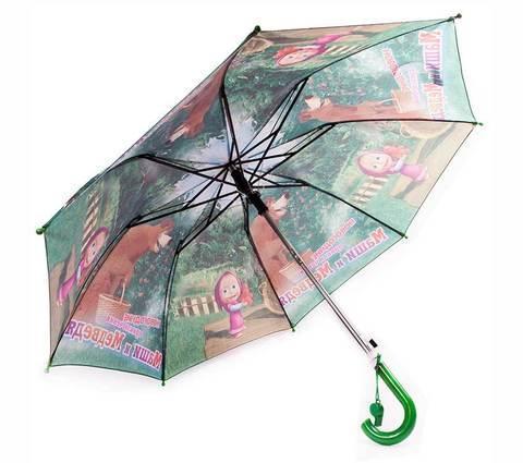 Зонт складной детский «Маша и Медведь», фото 2