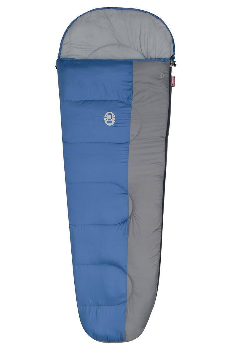 Спальный мешок трекинговый Coleman Atlantic 220, Форм-фактор: Кокон, Мест: 1, t°(комфорта): +11°С-+6°С, t°(Экс