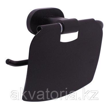 YUA0400 CMAT  YUKON Держатель туалетной бумаги черный