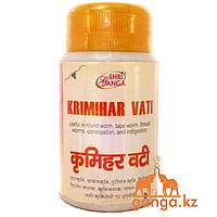 Антипаразитарное средство Кримихар Вати ШРИ ГАНГА (Krimihar Vati SHRI GANGA), 50 гр