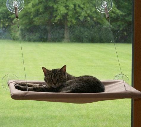 Лежанка для кошек подвесная Sunny Seat, фото 2