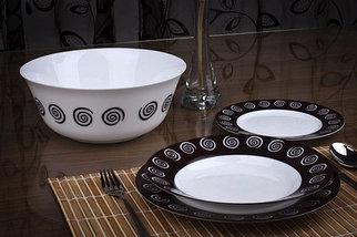 Сервиз столовый Luminarc Sirocco Brown G4135 [19, 46 предметов] (19 предметов), фото 2