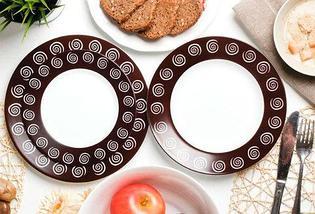Сервиз столовый Luminarc Sirocco Brown G4135 [19, 46 предметов] (19 предметов), фото 3