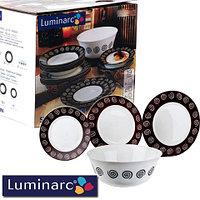Сервиз столовый Luminarc Sirocco Brown G4135 [19, 46 предметов] (46 предметов)