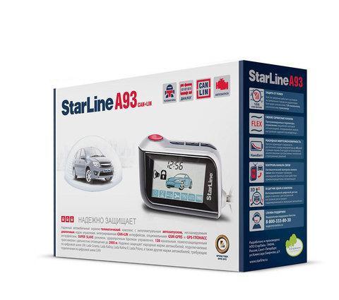 Сигнализация автомобильная StarLine A93, фото 2