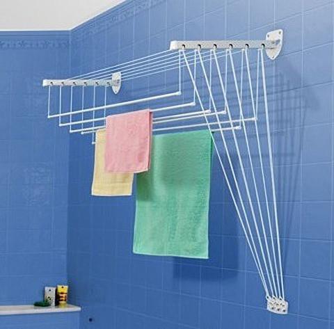 Сушилка для белья и одежды настенная Gimi Lift (200 см)