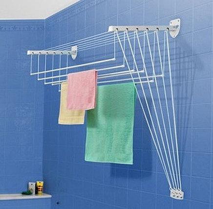 Сушилка для белья и одежды настенная Gimi Lift (200 см), фото 2