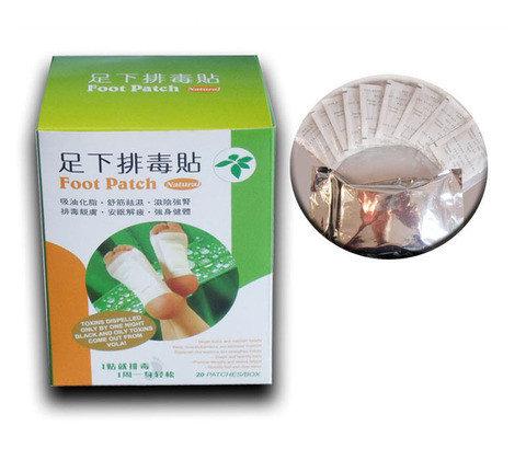 Пластырь для выведения токсинов Foot Patch Natural {20шт.}, фото 2